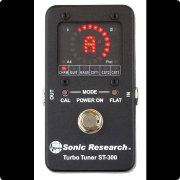 Sonic Research - Tubo Tuner ST300